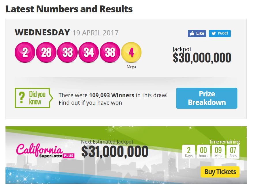 Lotto Reihenfolge