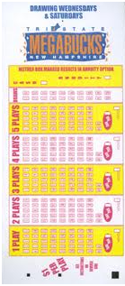 Each play costs $2 for each draw, and one play consists of a two-part  panel. You may purchase a ticket good for up to 20 draws by selecting a  draw number ...